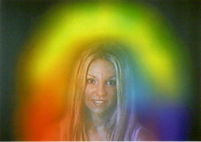 human aura using aura photography